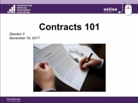 Contracts 101 - Day 2