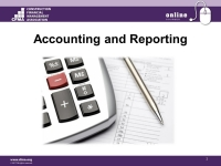 Accounting & Reporting - Day 1