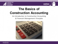 The Basics of Construction Accounting - Day 3