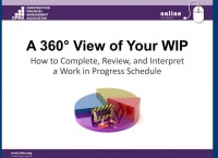 360° View of Your WIP - Part 1