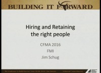 Hiring & Retaining the Right People