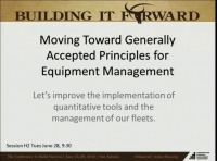 Heavy/Highway - Moving Toward Generally Accepted Principles for Equipment Management