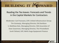 Reading the Tea Leaves: Forecast & Trends in the Capital Markets for Contractors