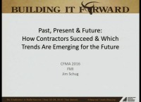 Past, Present & Future: How Contractors Succeed & Which Trends Are Emerging for the Future