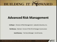 Advanced Session - Risk Management