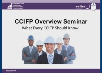 CCIFP Overview Seminar- Part III